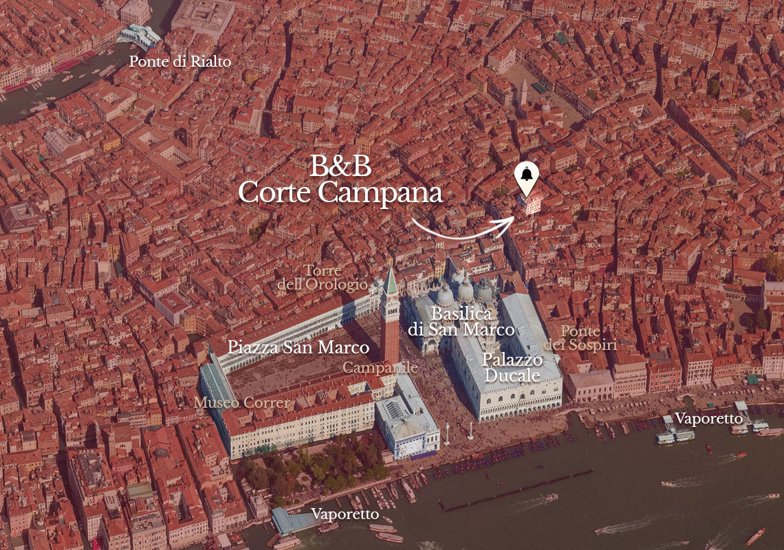 B&B Corte Campana is located à Venise, Italie