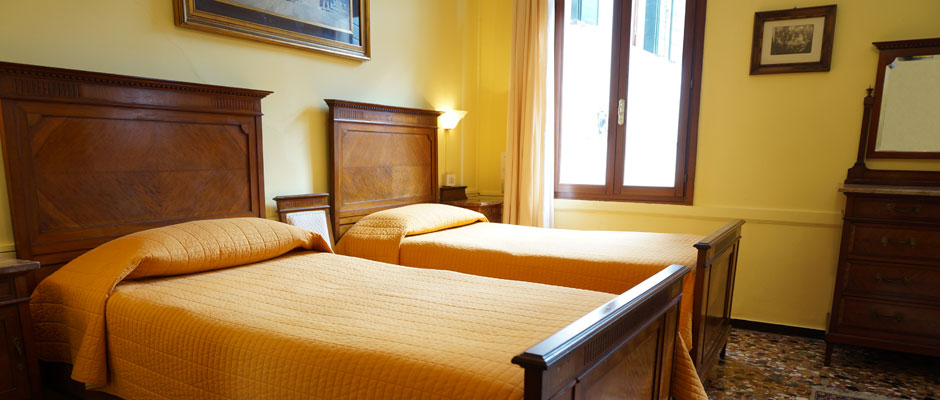 The Brother's Room in B&B Corte Campana, Venice Italy